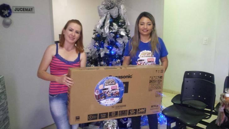 CDL entrega prêmios do Sonho de Natal