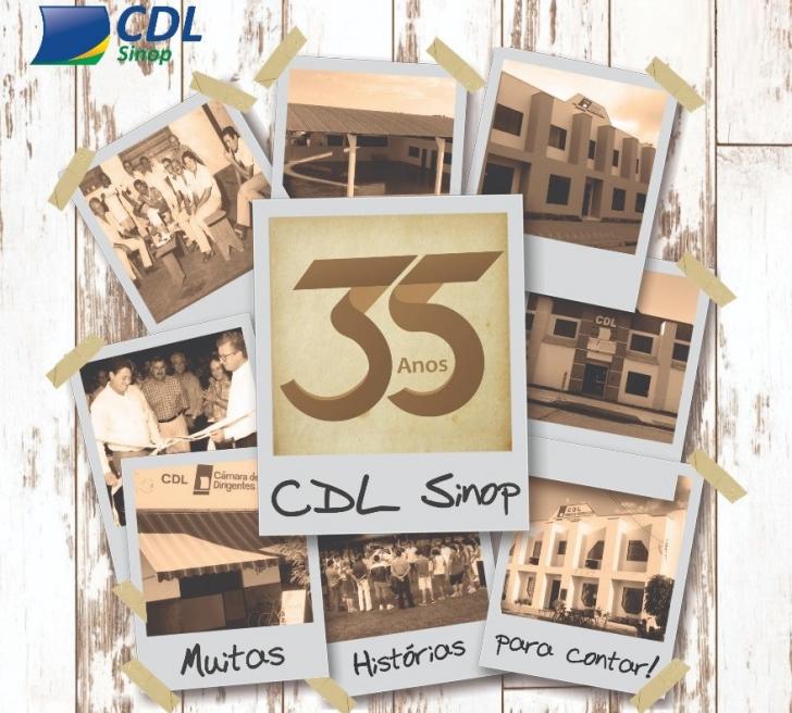 35 anos de história da CDL Sinop