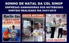 CDL parabeniza Lojistas Premiados no Sonho de Natal