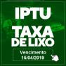 Primeira parcela do IPTU vence nesta segunda-feira (15)