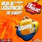 LIQUIDA CDL SINOP 2019 é neste sábado