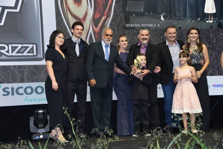 Ganhadores na festa do Mérito Lojista 2019