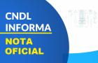 Nota oficial da CNDL