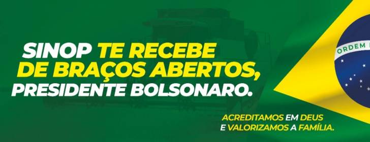 Sinop recebe o Presidente Bolsonaro nesta sexta