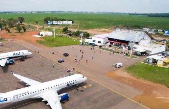 Aeroporto de Sinop recebe certificado para operar voos por instrumentos; CDL faz parte desta conquista